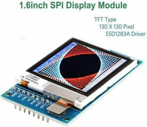 Makerhawk Arduino Lcd 1 6inch Spi Display Module Tft Display 130 X130 Screen