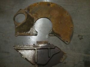 Amc Jeep Engine Transmission Spacer Plate Dust Shield 727 904 360 401 304