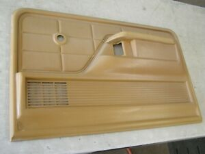 Oem Ford 1973 1979 Truck Door Panel Trim Tan 1974 1975 1976 1977 1978 F150 F100
