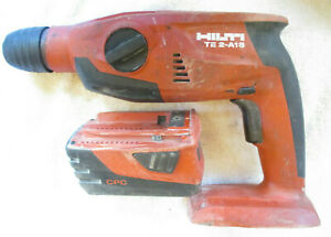 Hilti Te 2 a18 21 6v Li ion 1 2 Cordless Rotary Hammer Drill With Battery