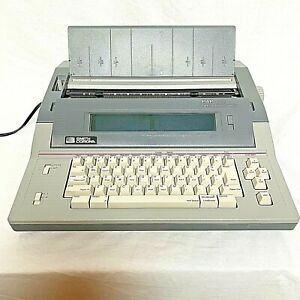 Smith Corona Pwp145 Portable Word Processor With 3 5 Disk Drive 800k Disc Tested