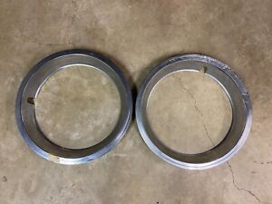 1965 1973 14 Chevy Wheel Trim Rings gm Original Used 2