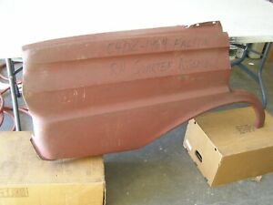 Nos Oem Ford 1964 1965 Falcon 4 Door Quarter Panel Sheet Metal Rh