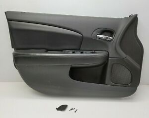Door Panel Chrysler 200 Driver Left Front Black With Switches 2011 2012 2013 14