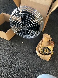 Vintage Chevy Ford Perfection Medal Fan In Box Nos Dash Mount