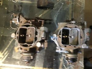 1956 Cadillac 2x4 Dual Quad Wcfb Carburators With Air Conditioning