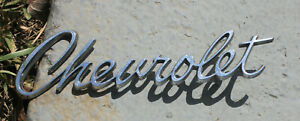 Oem 1967 Chevrolet Script Emblem Badge