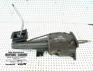 1970 Ford Mustang 250 6 Cylinder Manual 3 Speed Transmission With Shifter