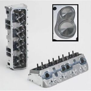 Brodix 1021002 Cylinder Head Assembled Ik 180 For Small Block Chevy New