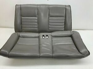 1999 2004 Oem Ford Mustang Convertible Gt Rear Seat Back Grey Leather S7808