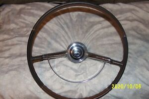 64 Chevy Impala Ss Steering Wheel Tan Brown