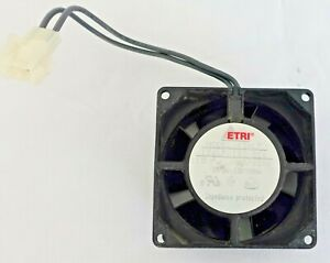 Etri Cooling 126lf Fan From A Beckman System Gold 168 Detector