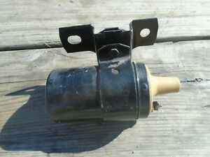 Vintage Original Oem Ford Yellow Top Mustard Autolite Ignition Coil