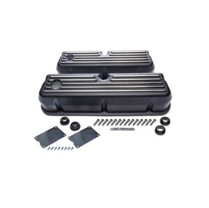 Racing Power R6175bk Valve Cover Tall 3 7 16 Height For Sb Ford New