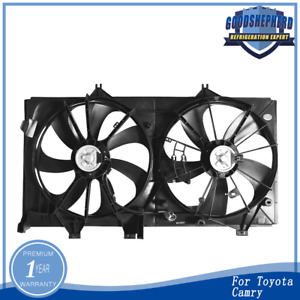 Dual Radiator Condenser Cooling Fan Assembly For Toyota Camry To3115169