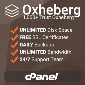 1 Year Unlimited Ssd Website Web Hosting Cpanel Based With Free Ssl s Support