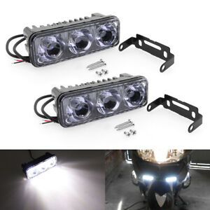 2x High Bright Led Work Lamp Fog Daytime Running Light Car Motorcycle Universal