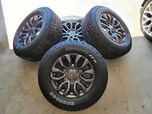 4 2019 2020 Ford Ranger 17 Factory Oem Charcoal Wheels Tires Lug Nuts