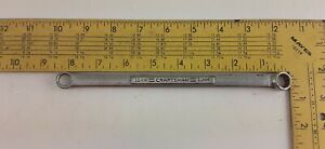 Craftsman Tools Usa 10mm 11mm Metric 12 Point Double Box End Wrench v 42954