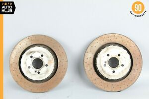 07 14 Mercedes W216 Cl63 Cl65 S63 Amg Rear Brembo Disc Brake Rotor Set Oem