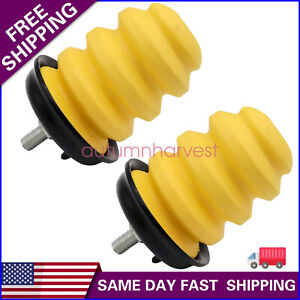 Axle Bump Stop Pair Lh Rh Sides Rear For 99 07 Chevy Gmc 1500 Pickup Truck