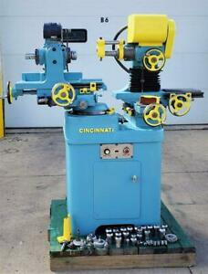 Cincinnati Monoset Tool Cutter Grinder Well Tooled
