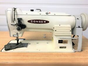 Consew 255rb 2 Walking Foot Big Bobbin 110v Servo Industrial Sewing Machine