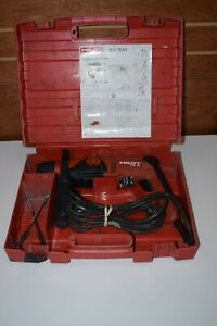 Hilti Te 2 Corded Hammer Drill With Handle Bits And Hard Carrying Case