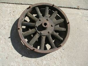 1925 1926 1927 Model T Ford Tt Truck 20 Rear Wood Spoke Wheel Hub Original