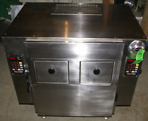 Autofry Ventless Double Deep Fryer Mti 40c Motion Technology Hoodless French Fry