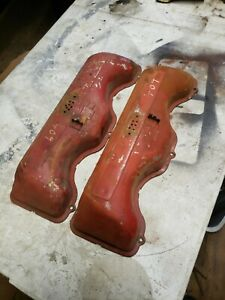 Chevy 409 Valve Covers Original High Performance With Drippers Impala 2