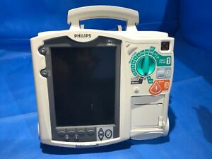 Philips Heartstart Mrx Ecg Nibp Spo2 Etco2 Tested No Battery Ac Adapter