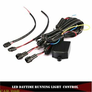Drl Led Daytime Running Light Relay Harness Automatic Control On Off Module Box