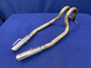03 04 Mustang Mach 1 4 6l Exhaust Tailpipe Tailpipes Oem 99 00 01 02 Tips N38