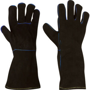 Welding Gloves Split Cowhide Size Options Small Med Large Xl 2xl