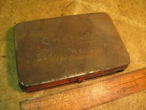 Vintage Snap On 1 4 Drive Socket Set Toolbox