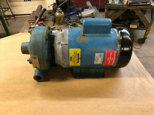 Paco Industrial Centrifugal Water Pump 80gpm W balfor 5hp Single Phase 3450rpm