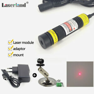 16 88mm Psu Adapter Laser Red With Diode Dot 650nm 50mw 648nm Focusable Module
