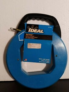 Ideal Industries 31 063 Tuff grip S class 100 Ft Fish Tape With Eyelet Usa