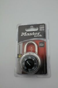 Master Lock Dial Combination Lock 1500d Brand New In Sealed Package