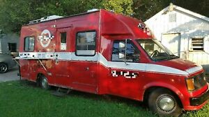 Multi purpose Chevy Mobile Kitchen Food Truck With Updated Permits For Sale In N