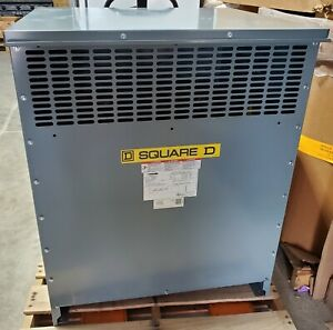 Square D Exn150t3hcu Transformer Dry Type 150kva 3 Phase Scratch Dent
