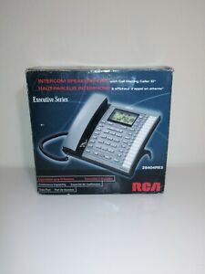 Rca 25415re3 Executive Series 4 line System Corded Phone Attendant Answerer New