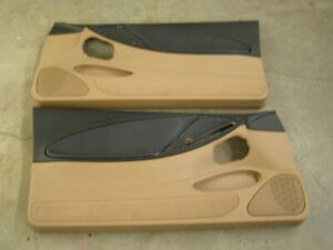 Nos Oem Ford 1994 1998 Mustang Door Panels 1995 1996 1997 Gt V6 Tan Black