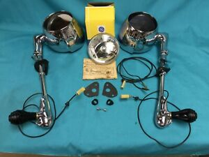 1955 1956 1957 Chevrolet Unity Restored Spot Light Mirrors Original Factory Pr
