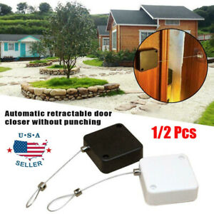 Punch free Automatic Sensor Door Closer Portable Quality Home Office Doors Off