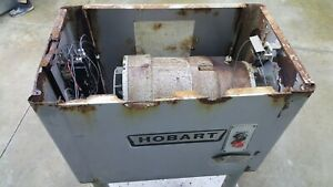 Hobart 4152 Meat Grinder Motor Gearbox Case Electric Tested
