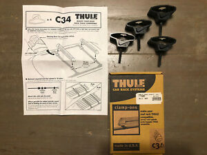 Thule C34 Compatibility Clamp Ons Original Box