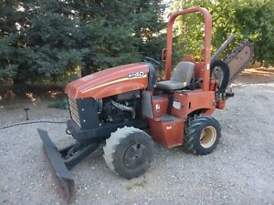 Ditch Witch Rt40 Riding Trencher