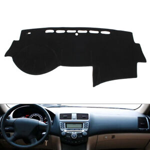 Car Dash Mat Dashboard Cover Dashmat For Honda Accord 2003 2005 2006 2007 Black
